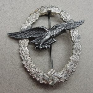 Luftwaffe Ball Hinge Glider PIlot's Badge