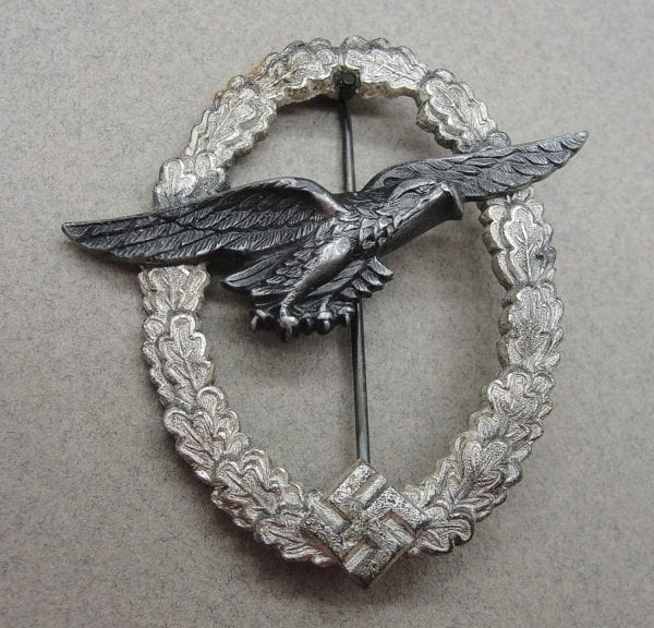Luftwaffe Ball Hinge Glider PIlot's Badge