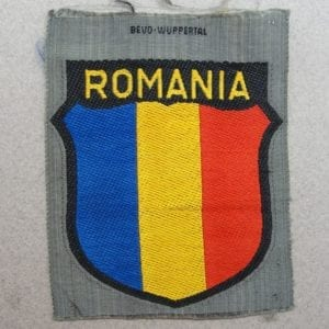 Romania Foreign Volunteer Shield