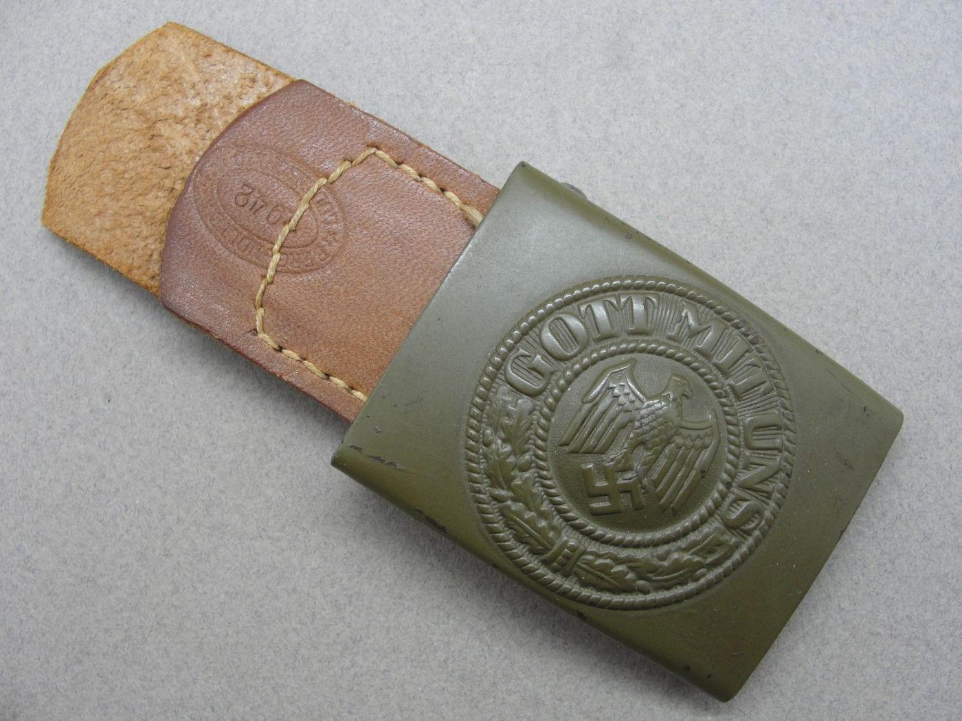 Army EM/NCOs Belt Buckle by Berg & Nolte