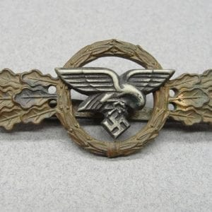 Luftwaffe Squadron Clasp for Transport and Glider Pilots, Bronze Grade