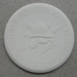 Afrikakorps Medal by Meissen