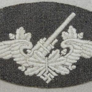 Luftwaffe Flak Artillery Personnel's Trade Badge