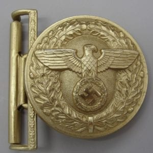 "Political Leader's Belt Buckle by ""RZM M4/23"""