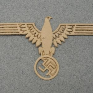 SS Officer's Sleeve Eagle Unterlagen