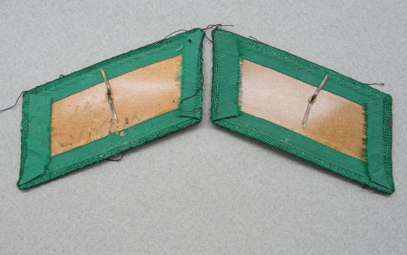 Customs Official Collar Tabs - Matching Pair