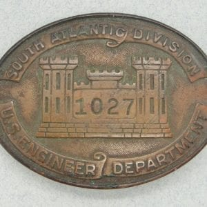 U.S ENGINEER DEPT. SOUTH ATLANTIC DIVISION Badge