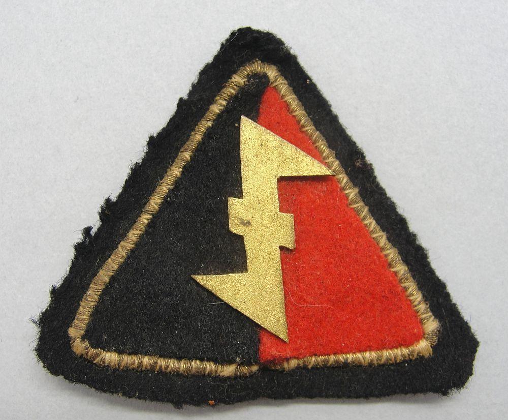 Dutch WA Cap Badge