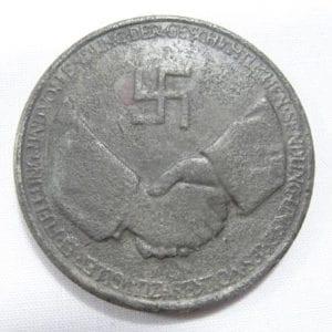 Hindenburg NSDAP Unity Propaganda Medal