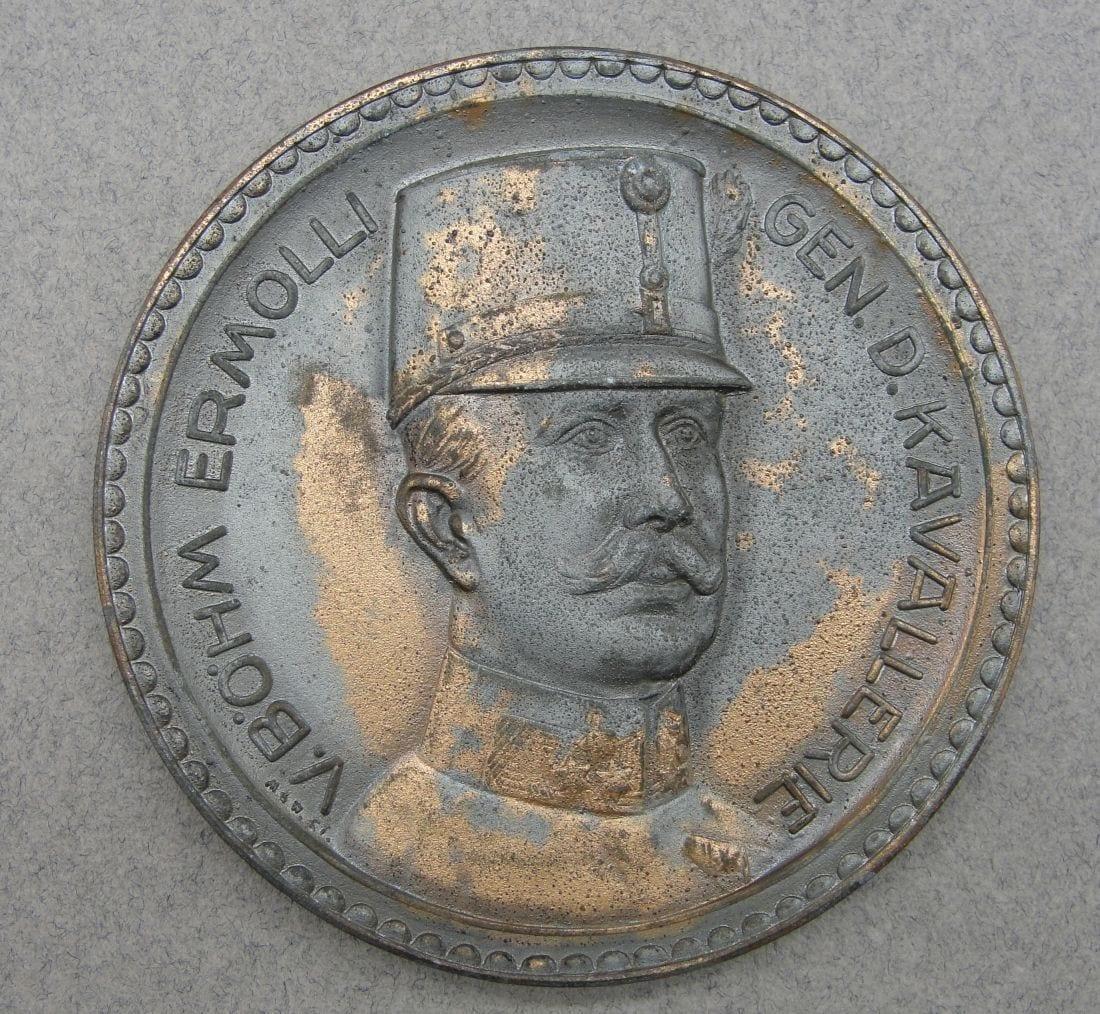 Generalfeldmarschall Eduard Freiherr von Böhm-Ermolli Table Medal
