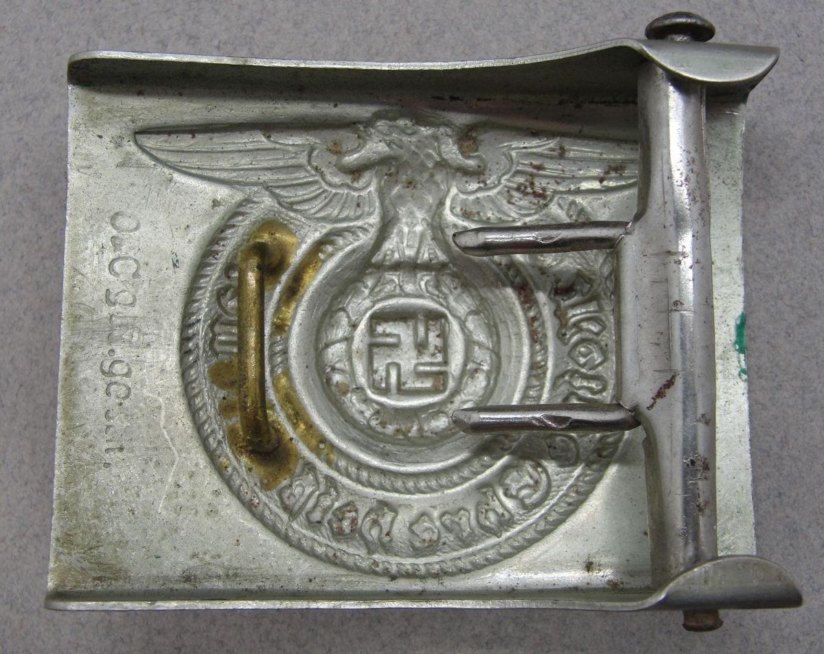 """SS EM/NCO'S Belt Buckle by """"O & C ges. gesch."""""""