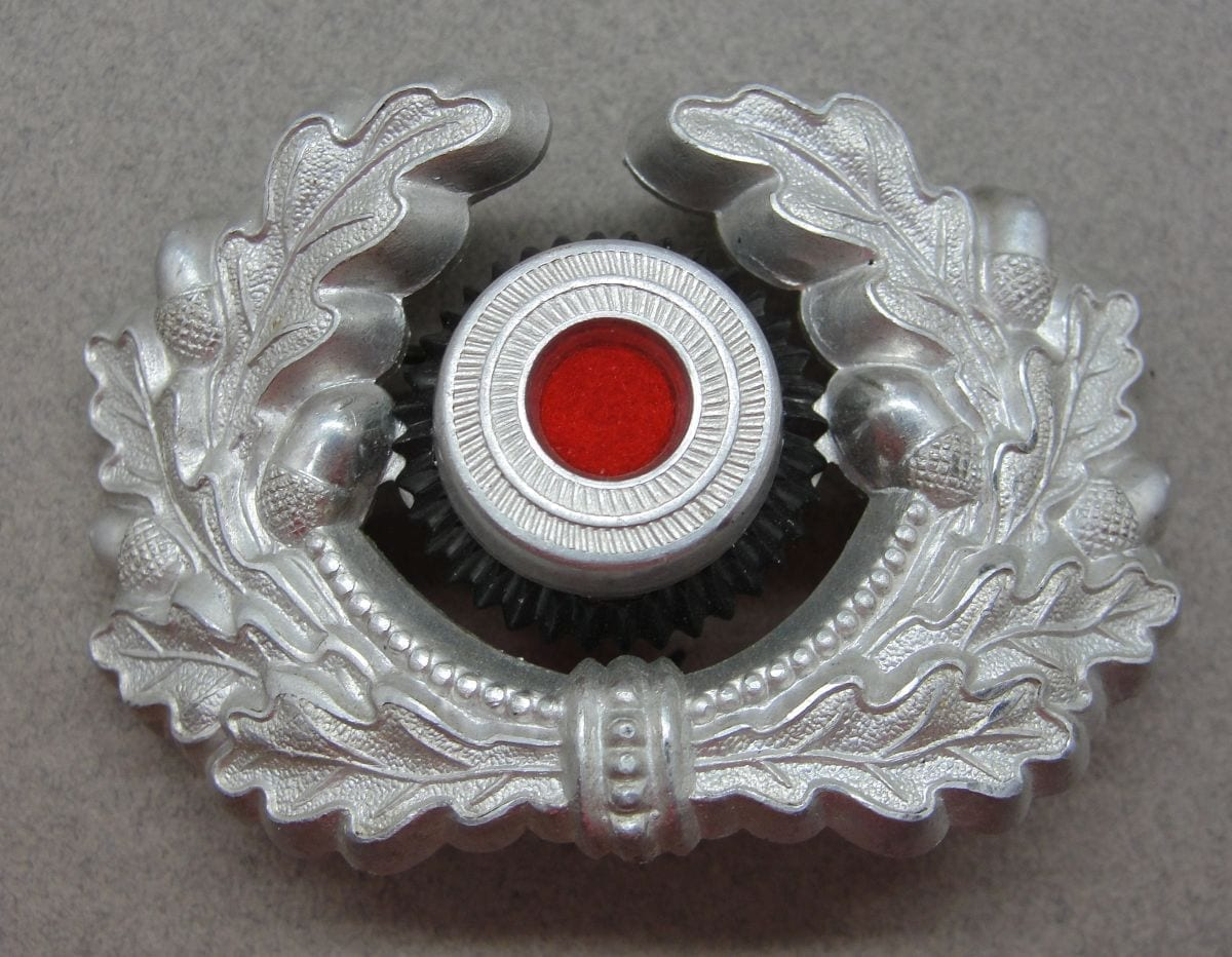 Army Visor Cap Wreath and Cockade
