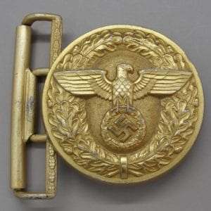 "Political Leader's Belt Buckle by ""RZM M4/87"""