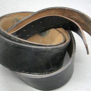 Black Belt, RZM Marked on Leather
