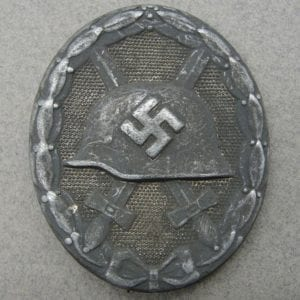 "1939 Wound Badge, Silver Grade by ""4"" Steinhauer & Luck"
