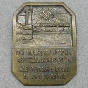 1934 NSDAP NEUWIED RHEIN Tinnie