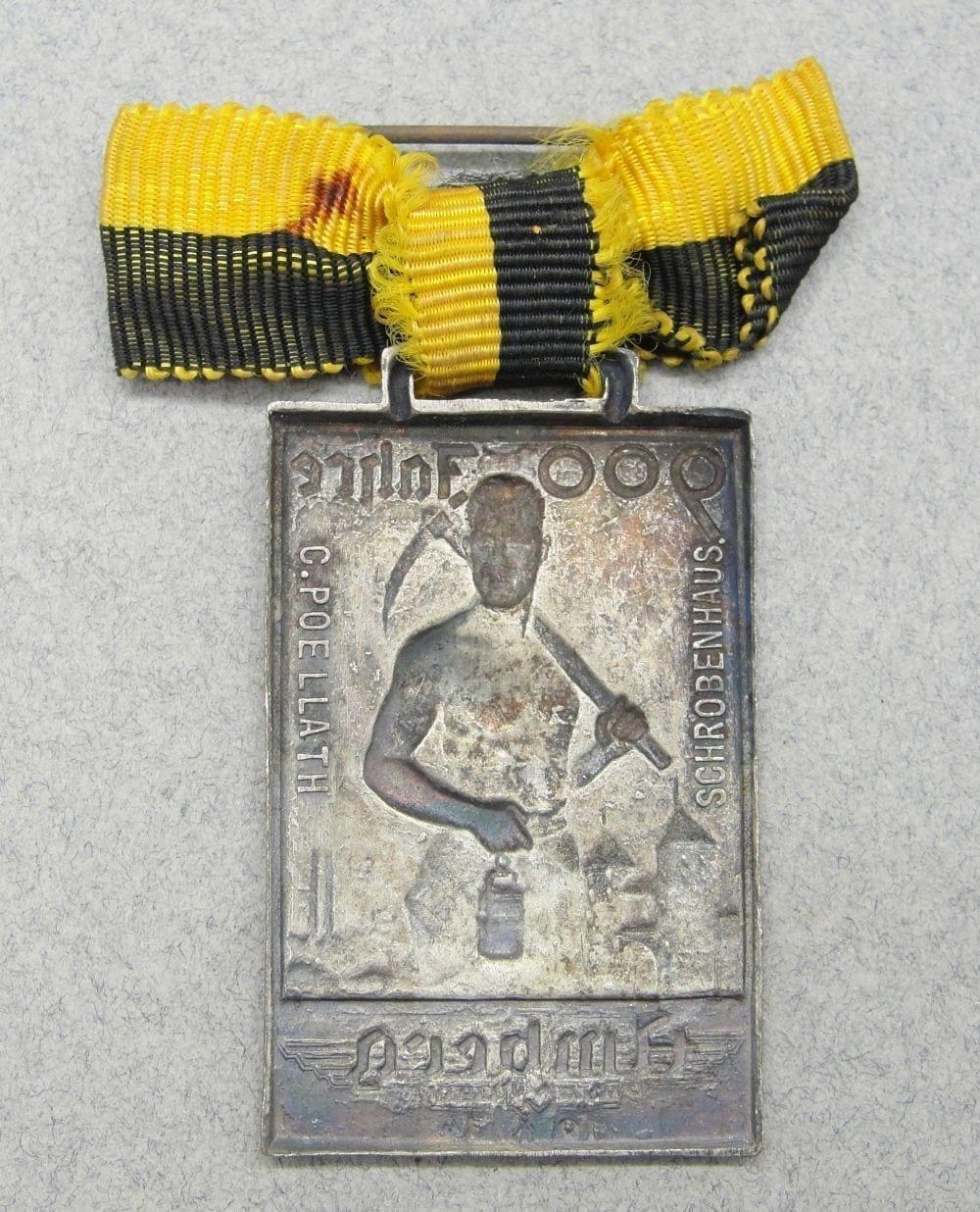 900 Years of Amberg Badge