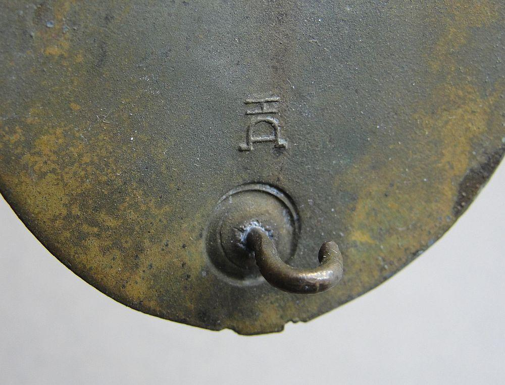 Army/Waffen-SS Panzer Assault Badge, Bronze Grade, by Aurich