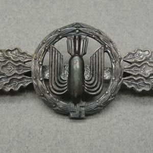 "Luftwaffe Squadron Clasp for Bomber Pilots Silver Grade by ""F. & B. L."""