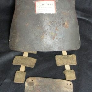 German Body Armor From WW1 with US Vet's Info