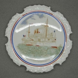 "US Battleship ""Maine"" Plate"