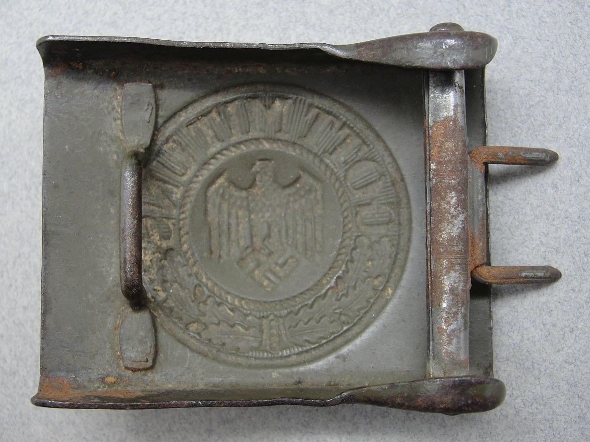"""Army EM/NCOs Belt Buckle by """"GB 40"""""""
