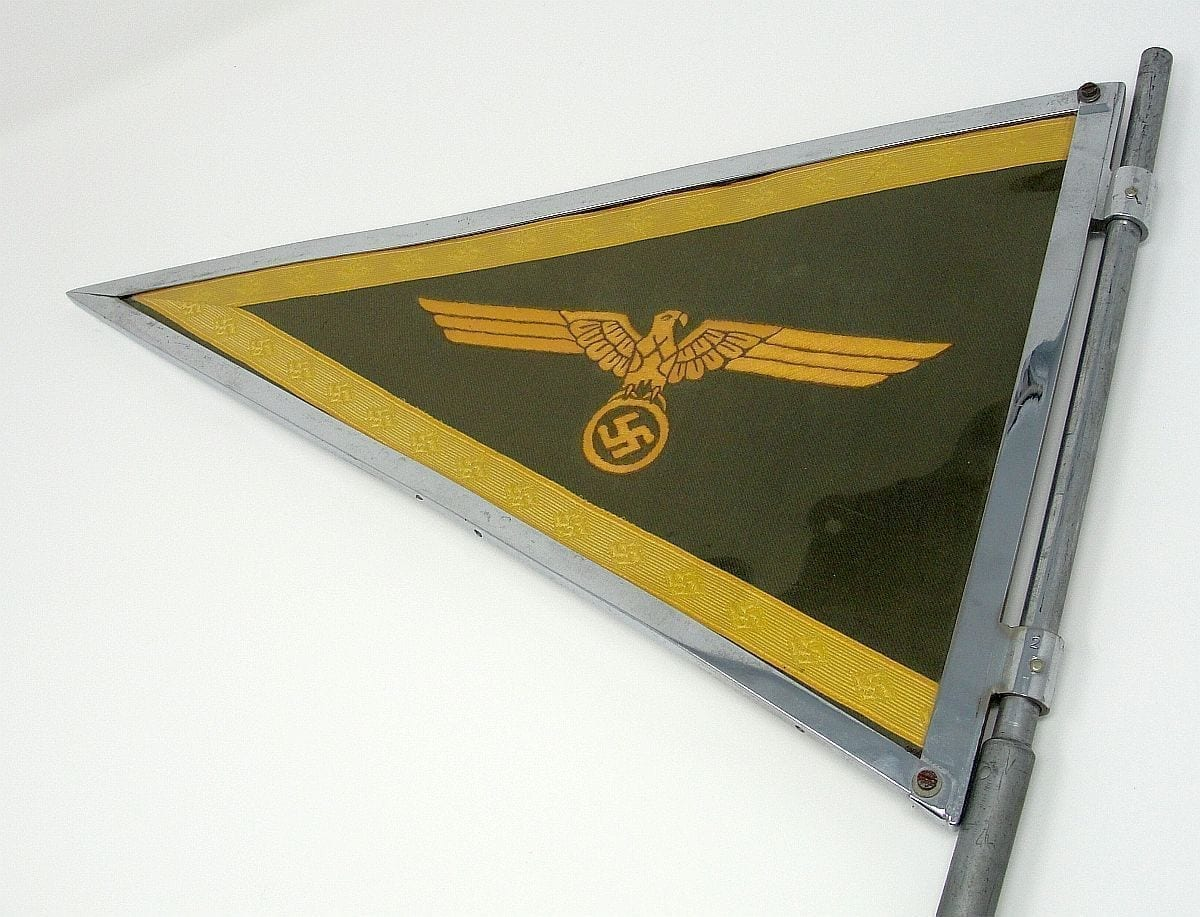 German Army General's Vehicle Pennant