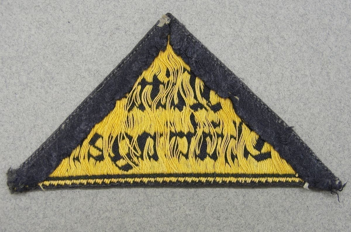Hitler Youth Mitte Thuringen District Sleeve Triangle