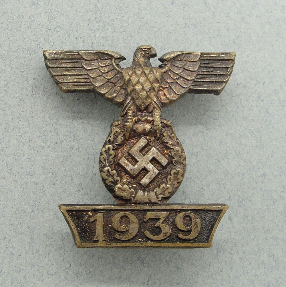1939 Spange to Iron Cross, Second Class, First Pattern with Scalloped Ends