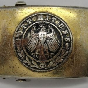 Prussian Telegrapher's Belt Buckle