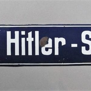 Adolf Hitler - Straße Street Sign