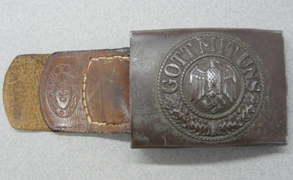 Army EM/NCOs Belt Buckle by Osang