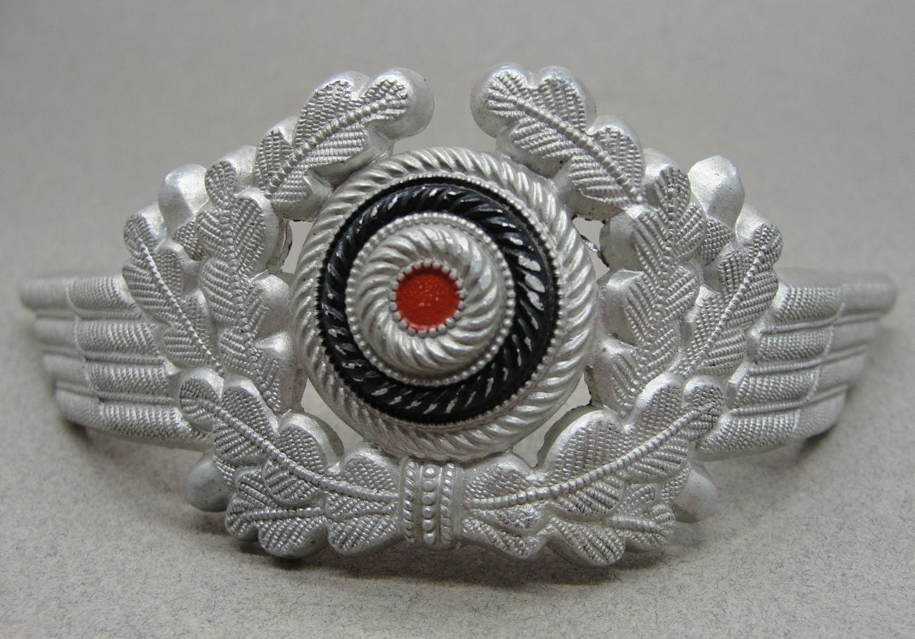 Luftwaffe Visor Cap Wreath and Cockade