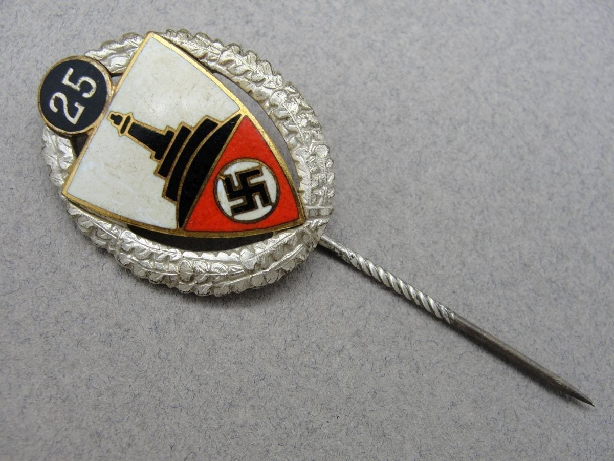 25 Year Veteran's Badge