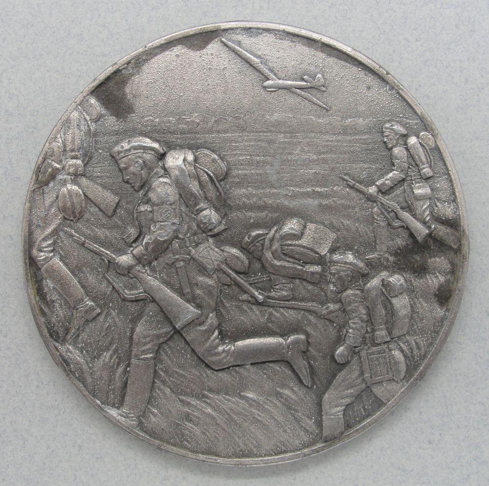 1939 NSFK Table Medal.  8cm/ 3 1/8cm diameter