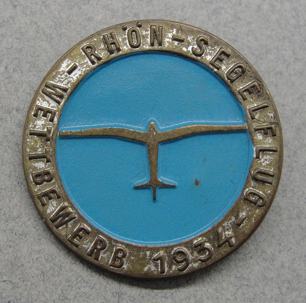 1934 Flight Badge