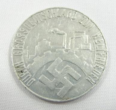 1935 Die Saar Ist Frei Token