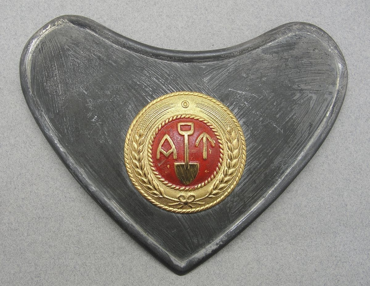 "Norwegian Labor Service ""Arbeidstjensten"" Gorget"