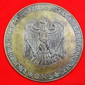 Large Bronze NSKK Table Medal