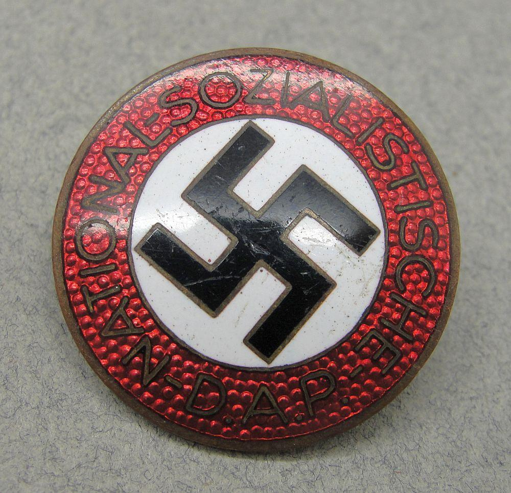 "NSDAP Membership Badge by ""RZM M1/120"""