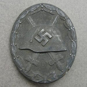 "1939 Wound Badge, Silver Grade by ""30"" Hauptmunzamt Wien"