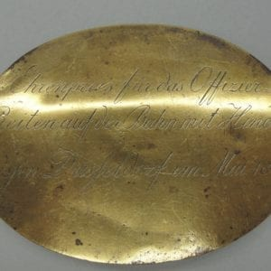 1842 Cavalry Officer Prize from Dusseldorf