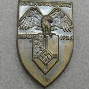 1938 Reichskolonialbund Tinnie