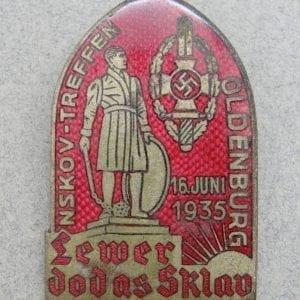 1935 Enamel NSKOV Badge