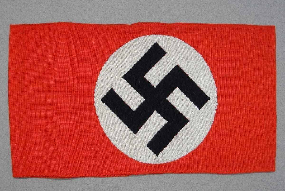 NSDAP Armband with RZM Tag