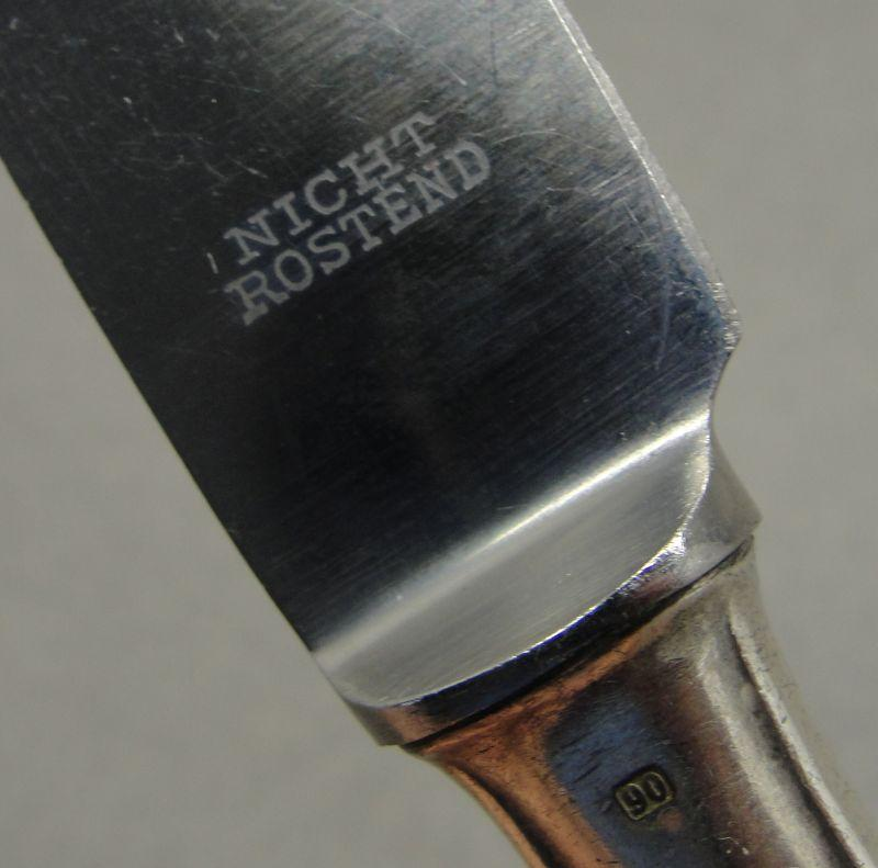 Adolf Hitler - Reichs Chancellery Formal Pattern Silverware - Knife