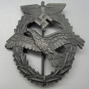 NSFK Pilot's Badge for Powered Aircraft, Third Design