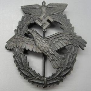 NSFK Pilot's Badge for Powered Aircraft, Third Design