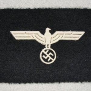 German Army Officer Cap Eagle Unterlagen