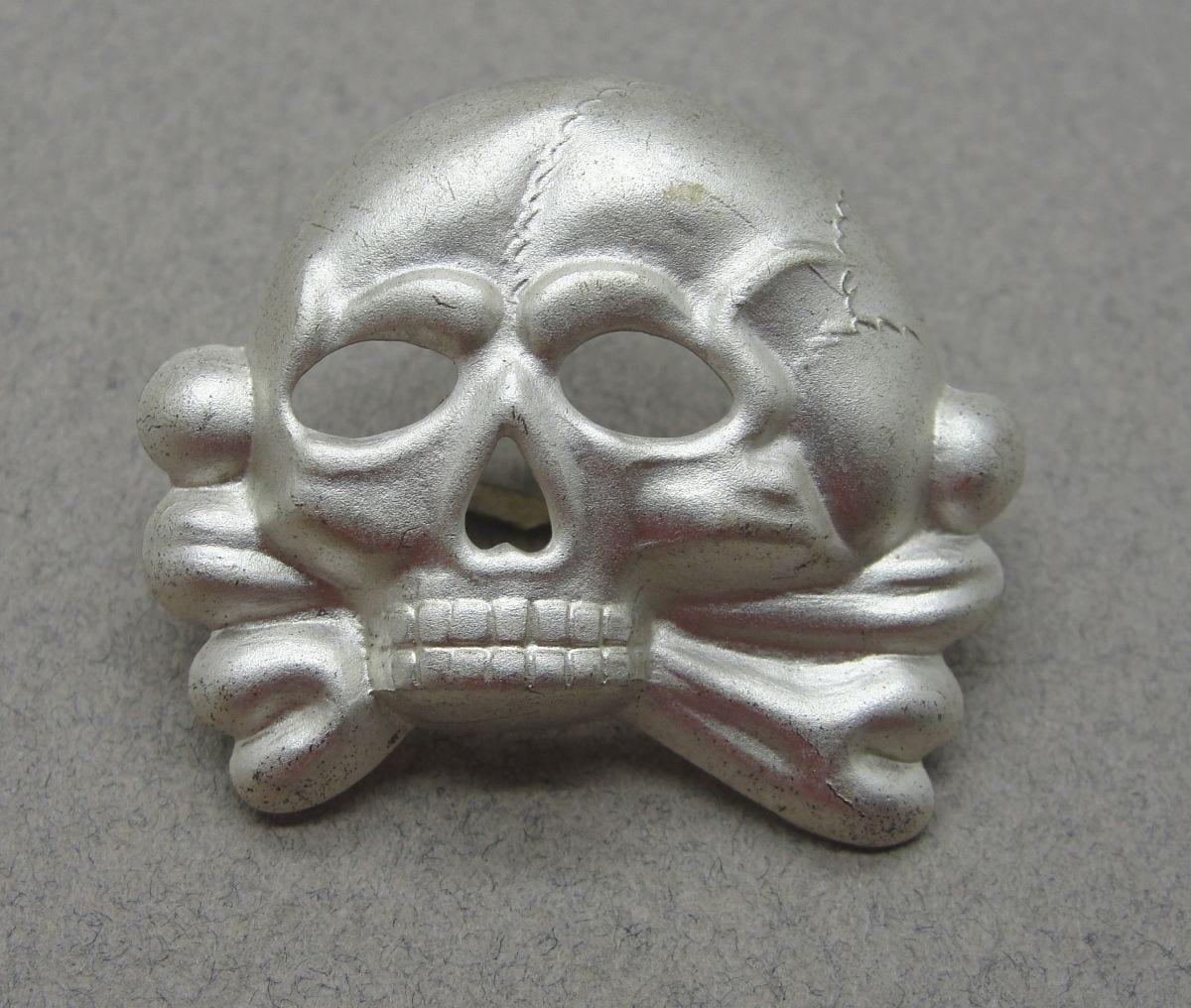SS Visor Cap Skull, Jawless First Pattern, Choice!